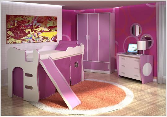 Decoracao Quarto Infantil Londrina ~   op??o para decorar o quarto infantil feminino (Foto Divulga??o