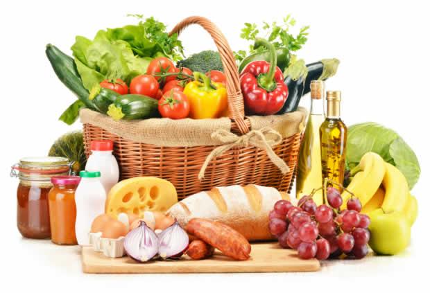 Alimentos Bons para Pele e Cabelo