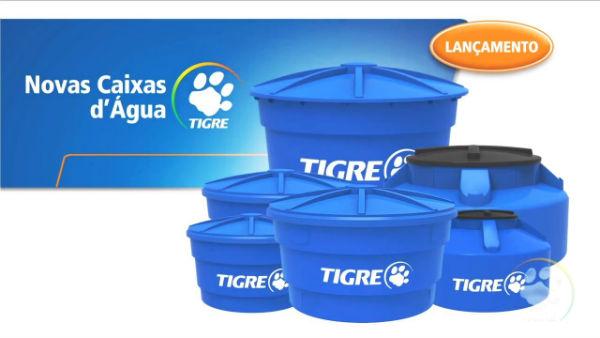 caixas d'água tigre 1000 e 500l