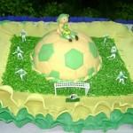137658 bolo bola de futebol 150x150 Decoração De Bolo Infantil, Fotos, Ideias