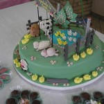 137658 bolo com pasta americana 150x150 Decoração De Bolo Infantil, Fotos, Ideias