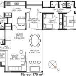 158105 Projeto de casa em formato de L 7 150x150 Planta de Casa em L