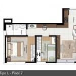 158105 Projeto de casa em formato de L 9 150x150 Planta de Casa em L