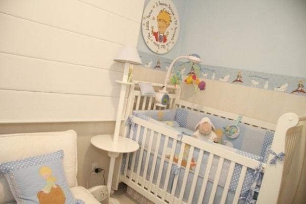 Decoraç u00e3o de Quarto de Beb u00ea Masculino, Fotos -> Decoração De Quarto De Bebe Pequeno Masculino