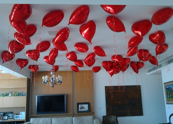 Decoração Dia Dos Namorados MundodasTribos – Todas as  ~ Quarto Romantico Para O Dia Dos Namorados