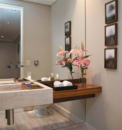 Objetos de Decoração para Banheiro -> Objetos Para Pia De Banheiro
