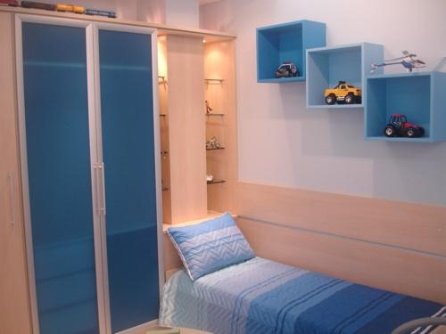 decoracao alternativa de quarto infantil:Quarto De Menino