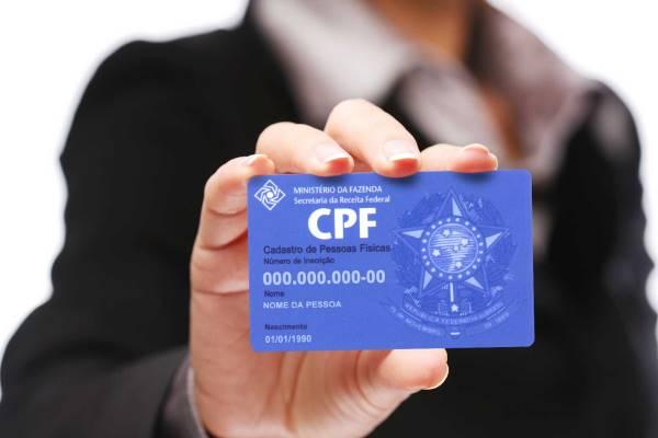 É muito importante manter o seu CPF em situação regular. (Foto: Divulgação)
