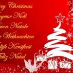 Feliz Natal em vários idiomas. (Foto: Divulgação)