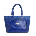 Bolsa grande azul. (Foto: Divulgação)