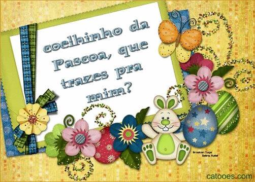 Cartão de Páscoa divertido (Foto: cartões.com)