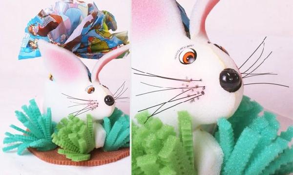 O coelho é um dos simbolos da Páscoa por representar fertilidade, renascimento (Foto: MdeMulher)