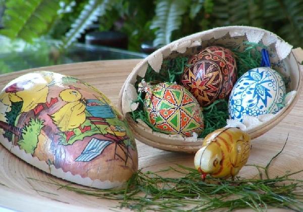 Os ovos de chocolate também são simbolismos da Páscoa (Foto: MdeMulher)