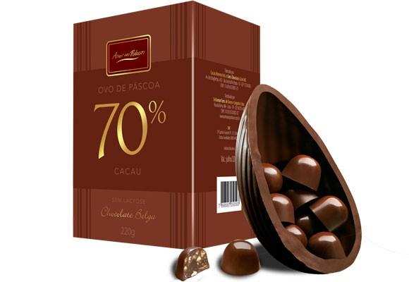 Ovos de chocolate amargo são muito mais saudáveis (Foto: MdeMulher)