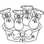 Faça as pinturas dos ovos de páscoa junto com as crianças (Foto: Divulgação)
