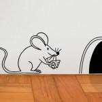 Adesivo de ratinho. (Foto: Divulgação)