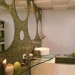 A decoração do ambiente com espelhos fica muito bonita (Foto: Divulgação)