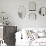 Os espelhos são muito belos na casa (Foto: Divulgação)
