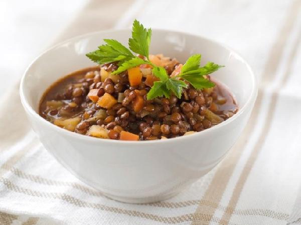 Sopa de Lentilha com Bacon (Foto: Divulgação)