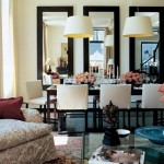 Espelhos deixam a sala mais bonita. (Foto: Divulgação)