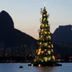 Árvore de Natal linda no Rio de Janeiro (Foto: Divulgação)