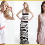As listras e os vestidos longos também são uma das inumeras opções para o Reveillon.