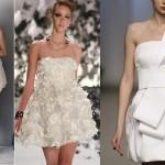 Rendas e trabalhados nos vestidos brancos chamam atenção neste Reveillon