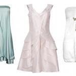 Os vestidos são mais elegantes e apropriados para a ocasião.