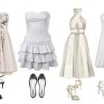 Escolha o sapato adequado para cada vestido, mas de prioridade ao conforto.