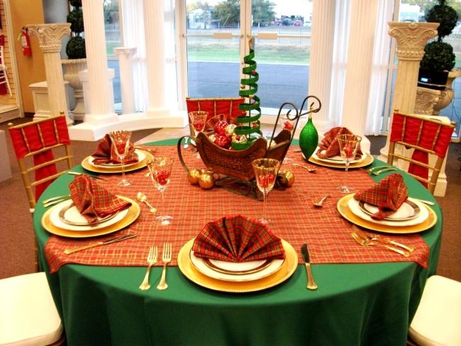 Resultado de imagem para decoração mesas de  natal