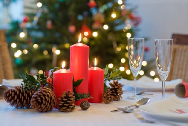 Use a criatividade decorando com simplicidade a mesa (Foto: Divulgação)