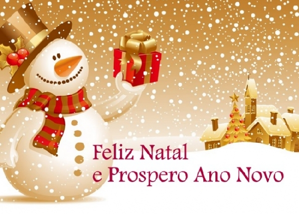 Feliz Natal! Boas Festas! Adeus Ano Velho! Feliz Ano Novo! (Foto: Divulgação)