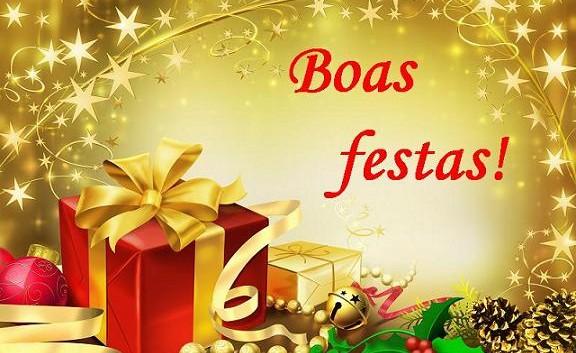 Desejo de Boas Festas e um feliz 2016!!! (Foto: Divulgação)
