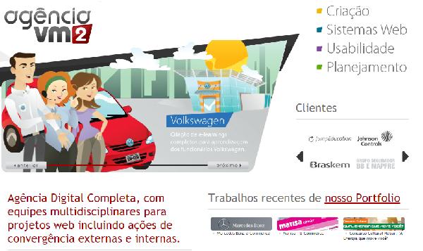 A VM2 trabalha com empresas importantes (Foto Divulgação: Agência VM2)