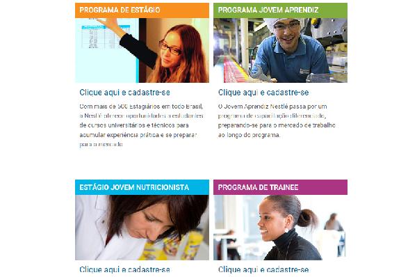 A Nestlé oferece inúmeras vagas (Foto Divulgação: Nestlé)