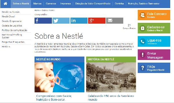 A Nestlé atua sempre em preocupação com o meio ambiente (Foto Divulgação: Nestlé)