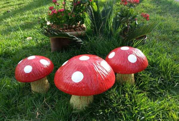 enfeites para jardim de cimento:Fotos de Esculturas e Enfeites para Jardim. (Foto: Divulgação)