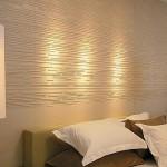 A textura pode ser usada como limitador em uma parede. (Foto: Divulgação)