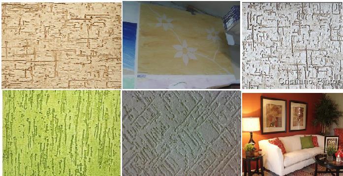 textura de parede diversos