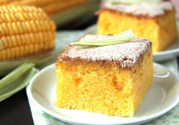 O bolo de milho é um excelente aliado nas dietas (Foto: Divulgação)