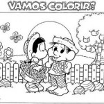 Figuras Festa Junina para Colorir (Foto: Divulgação)