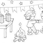 Mais um lindo desenho para a criançada colorir. (Foto: Divulgação)