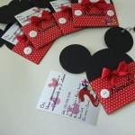 Modelo de convite de aniversário Mickey. (Foto: divulgação)