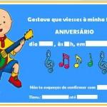 Convite de aniversário infantil. (Foto: divulgação)