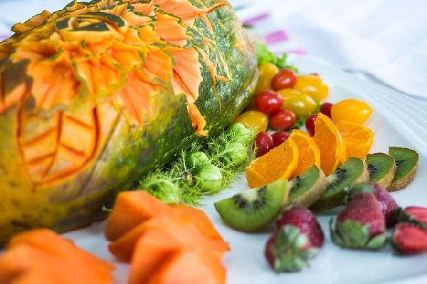 Frutas e legumes ajudam na limpeza das toxinas do organismo (Foto: Divulgação)