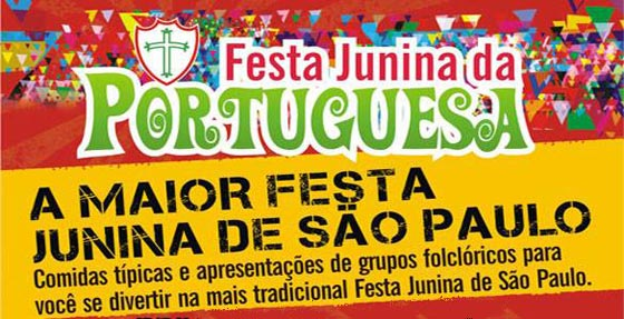 A Festa Junina da Portuguesa foi um sucesso (Foto: Divulgação)