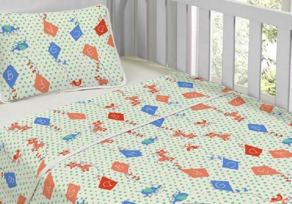 O lençol térmico pode ser usado em cama de criança (Foto: Divulgação MdeMulher)
