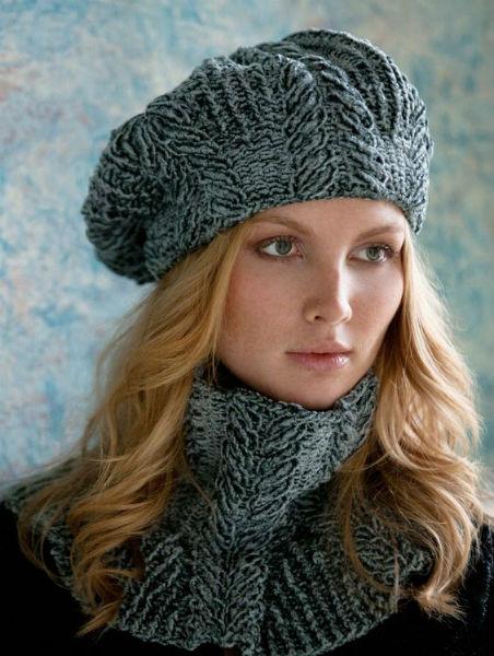 Modelos para cachecol de tricô e crochê 4