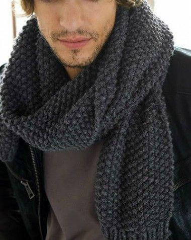 Modelos para cachecol de tricô e crochê 8