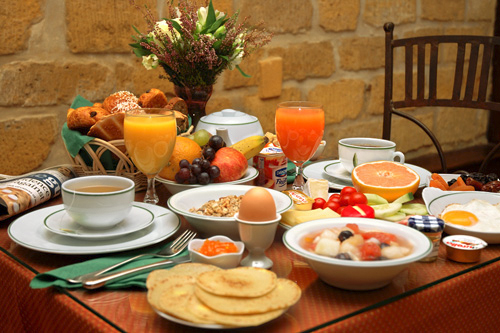 O café da manhã é fundamental (Foto: Divulgação)